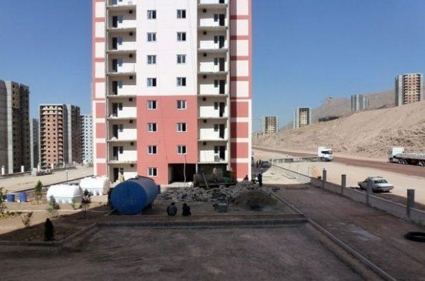 تکمیل ۷۵ درصد از واحد های مسکونی مهر در دولت تدبیر و امید