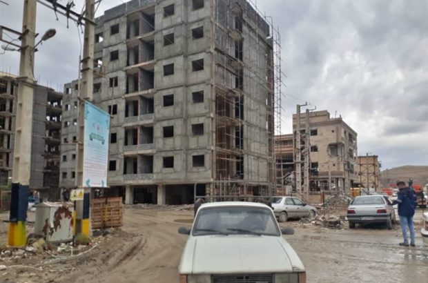 مقاوم سازی ۹۰ درصد از واحد های مسکونی مهر کرمانشاه